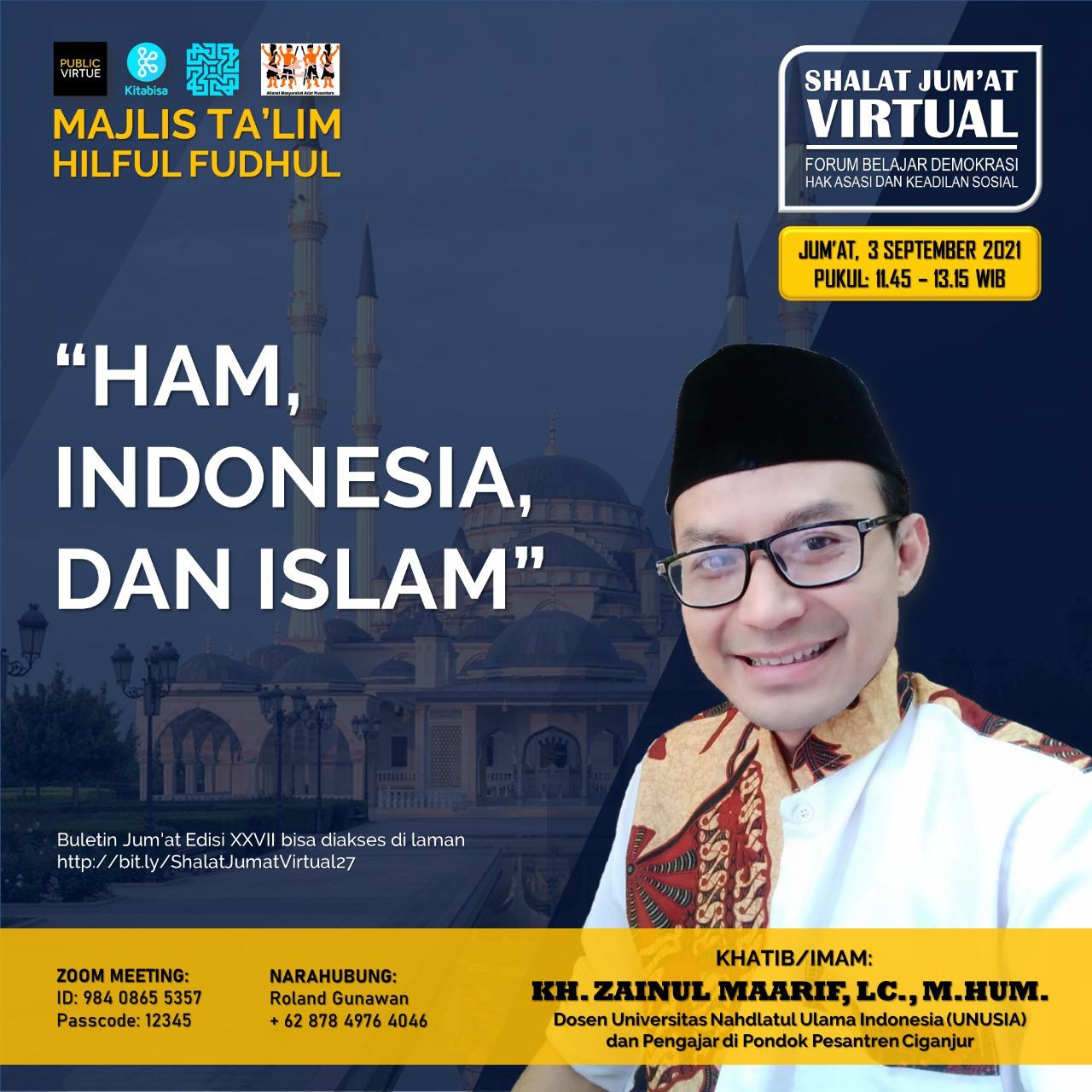 Hak Asasi Manusia, Indonesia dan Islam