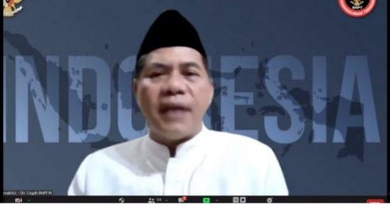 Direktur Pencegahan Badan Nasional Penanggulangan Terorisme (BNPT) RI, Brigjen. Pol. R. Ahmad Nurwakhid, SE, MM