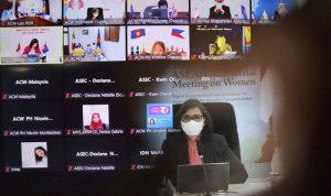 Lenny N. Rosalin di ASEAN Commitment on Women 2021