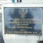 Kampung Toleransi di Gang Ruhana Kota Bandung